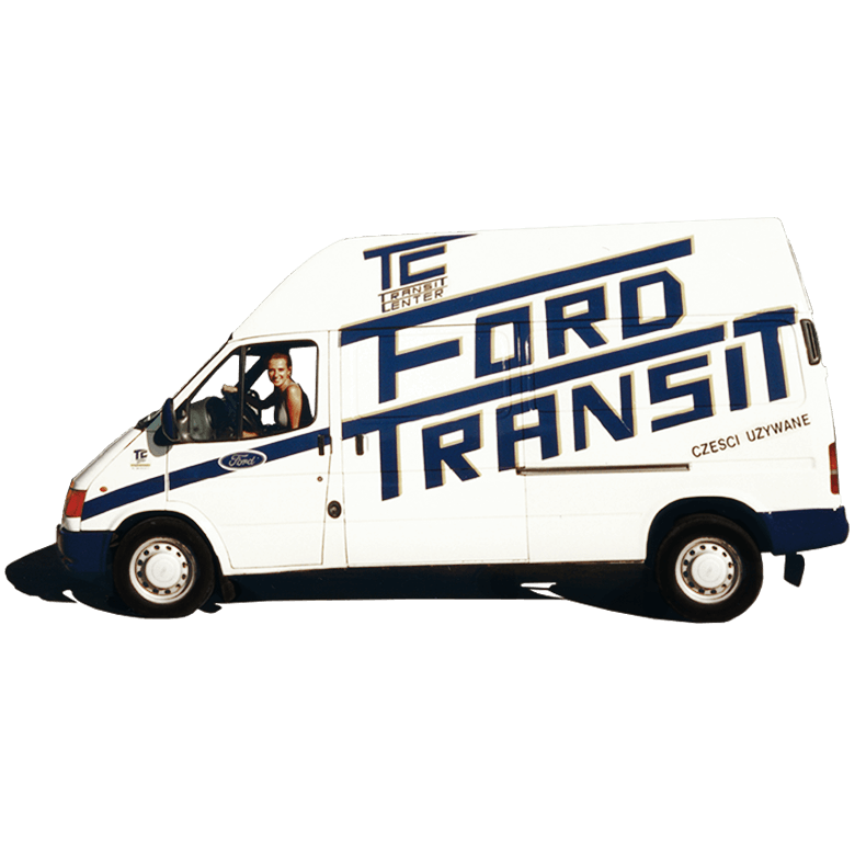 Ford Transit MK5 Transit Center povijest
